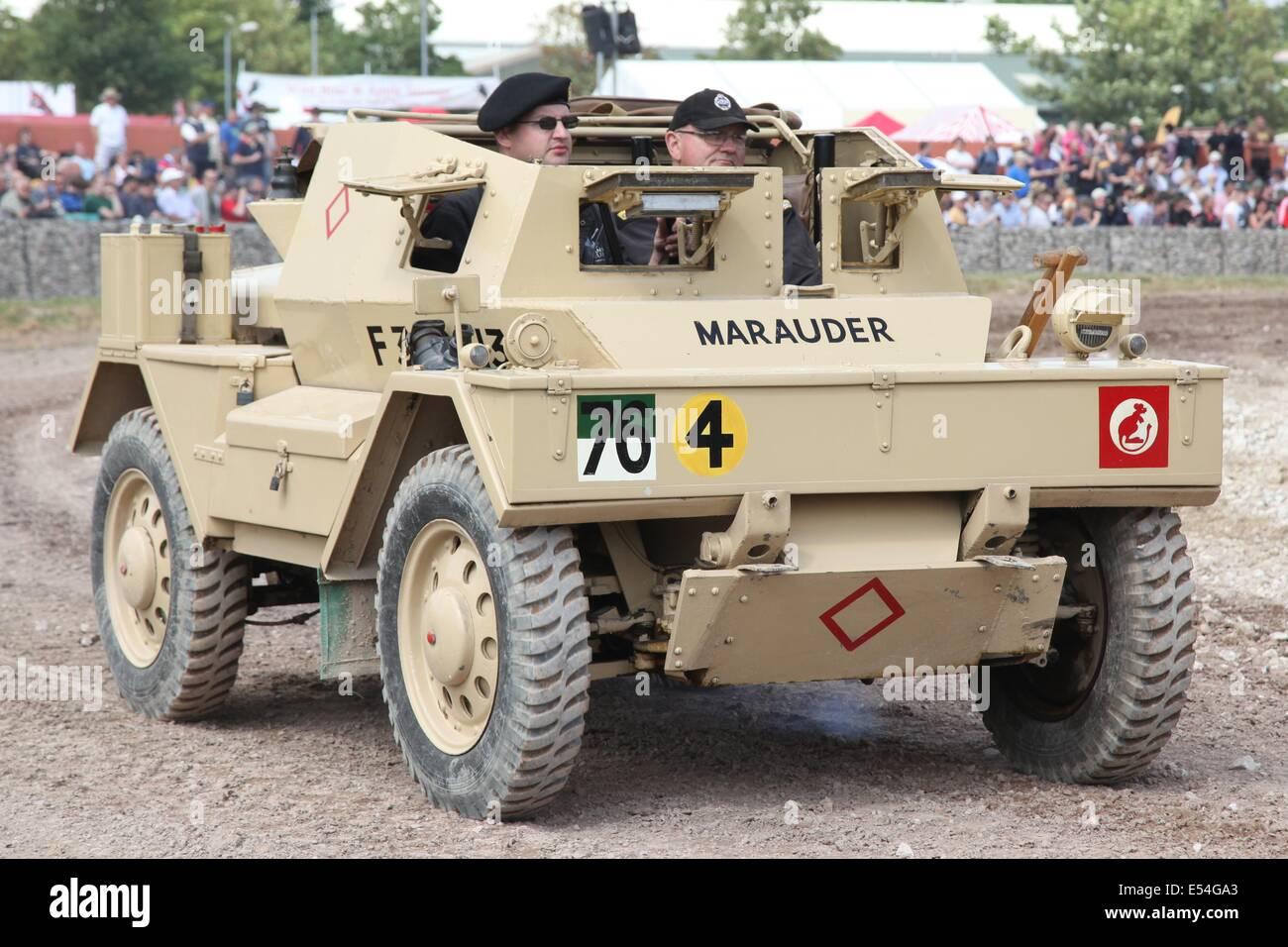Daimler Dingo Scout Car Mark II - Bovington - Stock Image