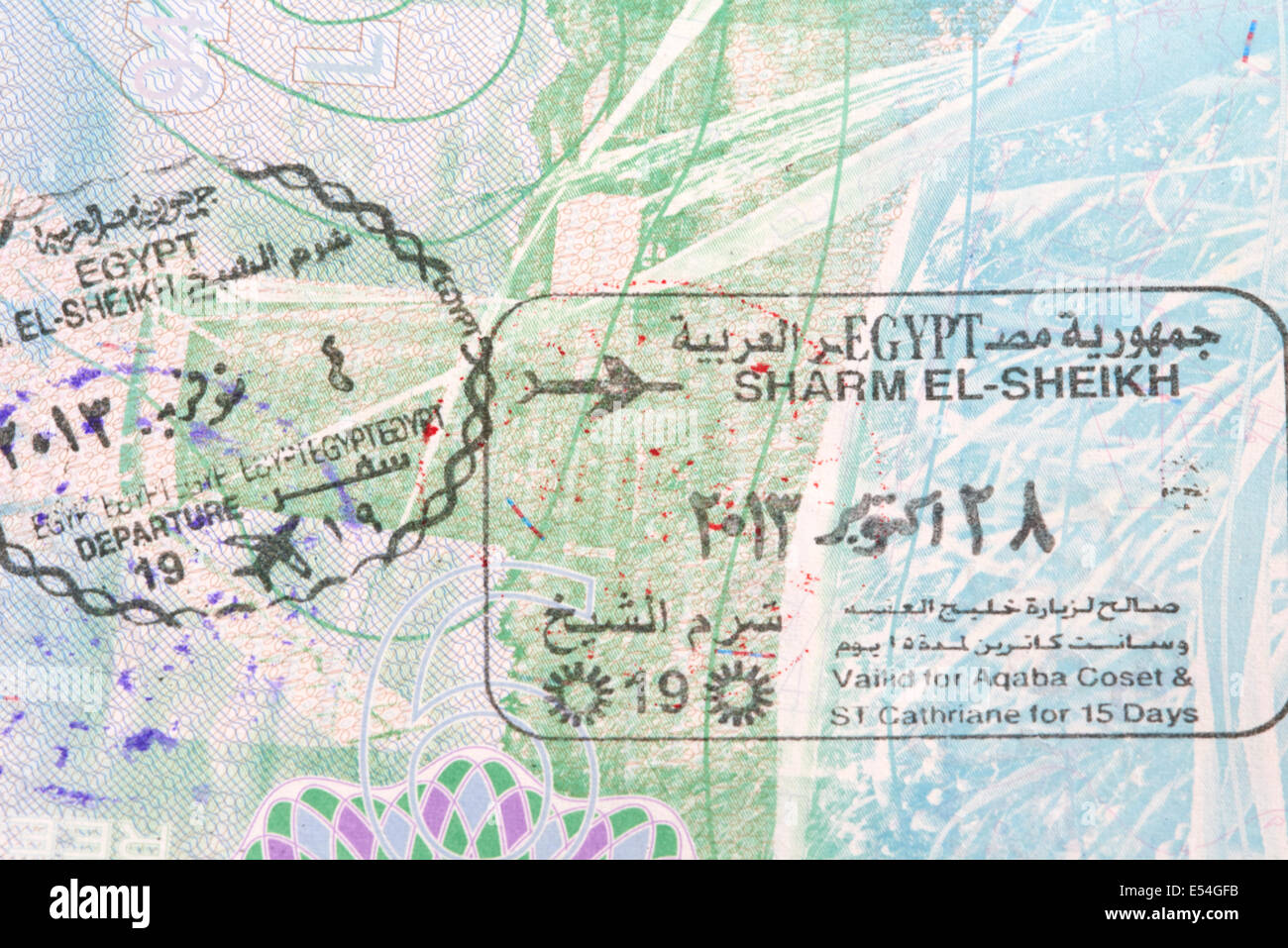 Entry and exit stamps for sharm el sheikh egypt in a british entry and exit stamps for sharm el sheikh egypt in a british passport gumiabroncs Choice Image