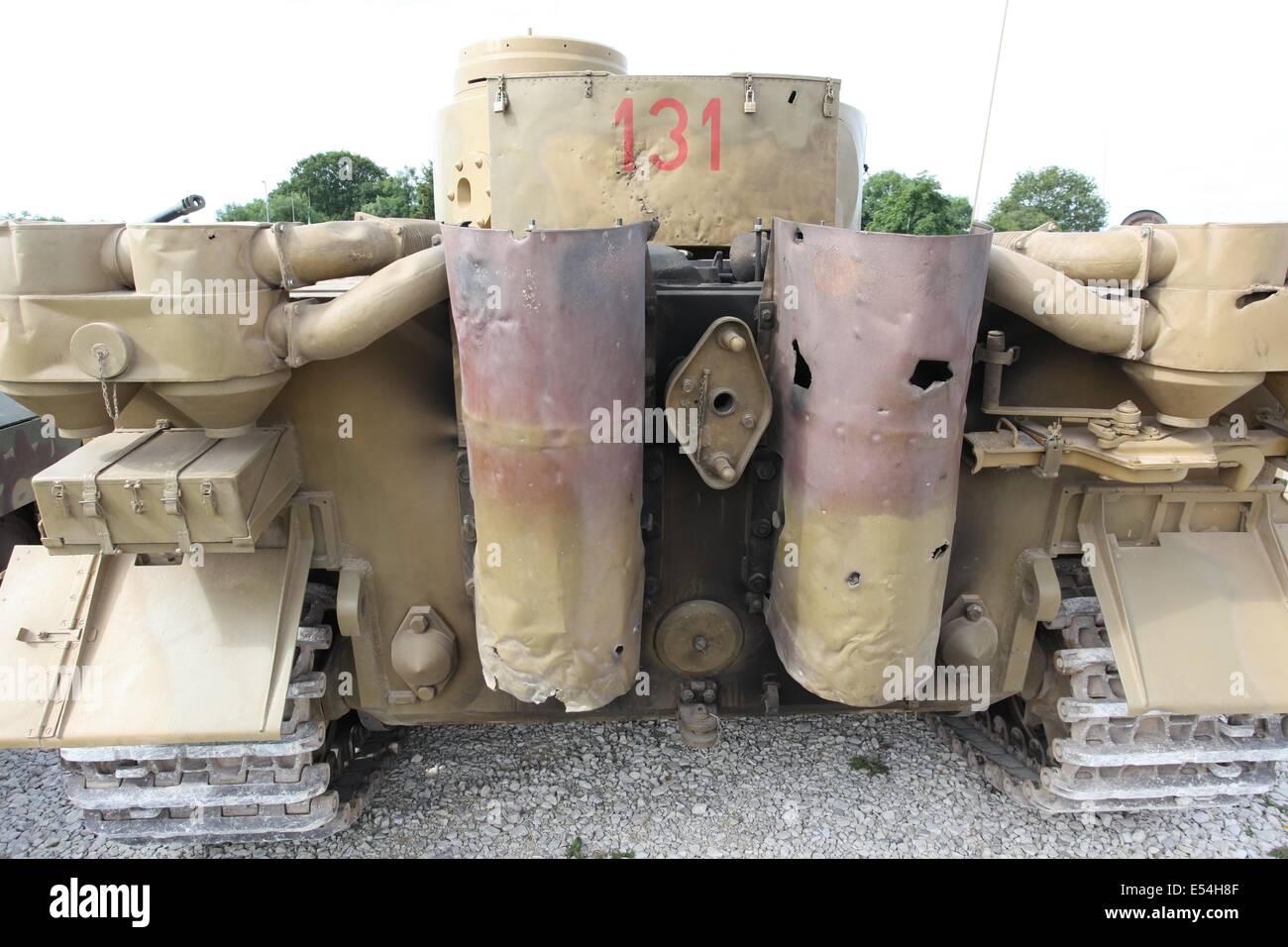 Tiger 1 - sd Kfz 181 Panzerkampfwagen VI Ausf E - Stock Image
