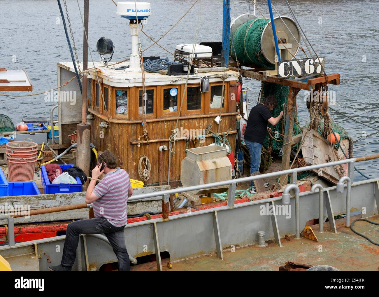 Old Fishing Boat Cabin High Resolution Stock Photography And Images Alamy