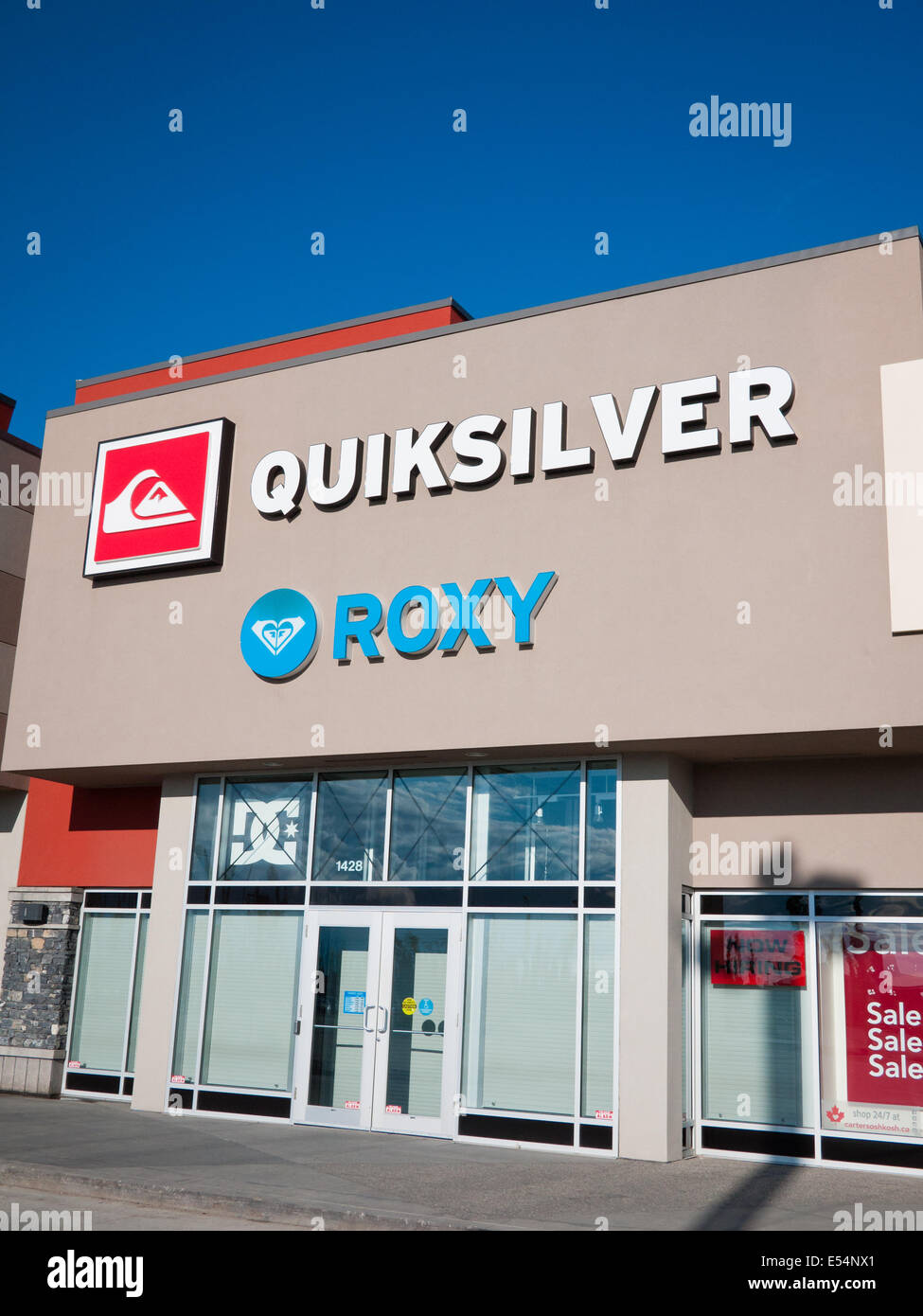9dbb175f3ff A Quiksilver and Roxy factory outlet store at South Edmonton Common in  Edmonton
