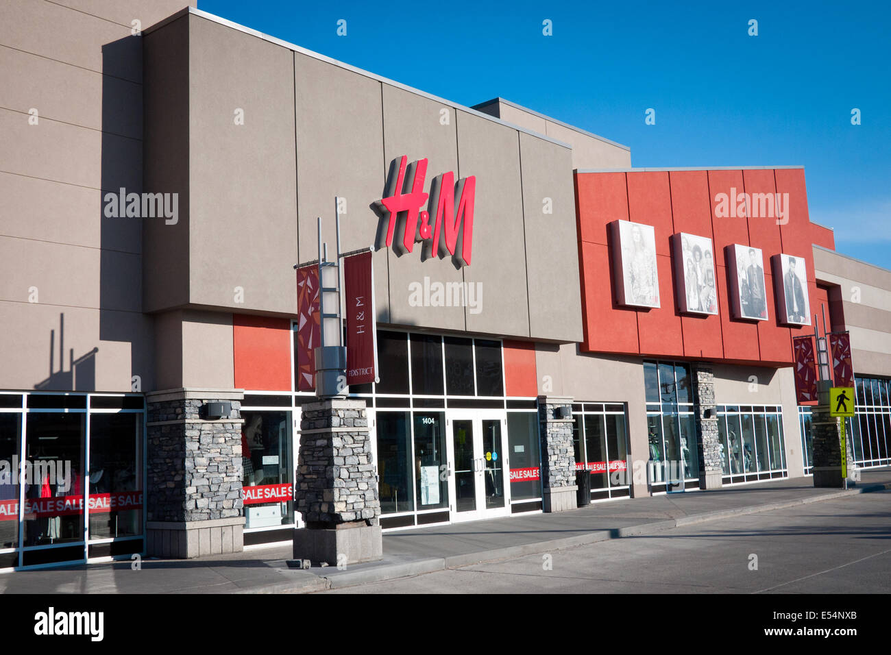 6f395895250 The exterior of an H M (Hennes   Mauritz) store at South Edmonton Common in  Edmonton