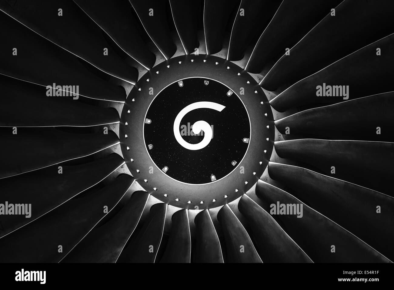 Turbofan Jet Engine Stock Photos Amp Turbofan Jet Engine