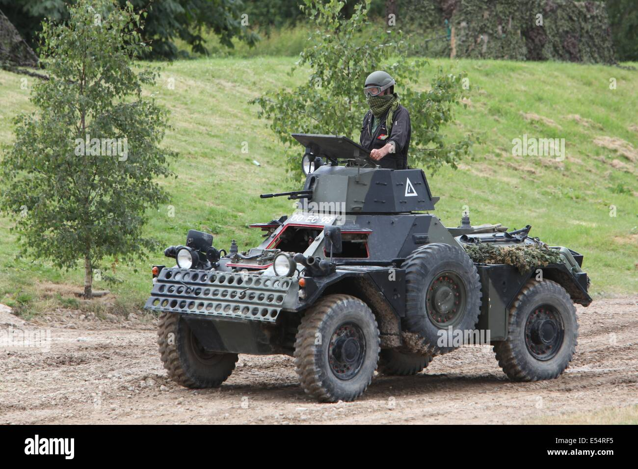 Ferret MkII Scout Car - bovington - Stock Image