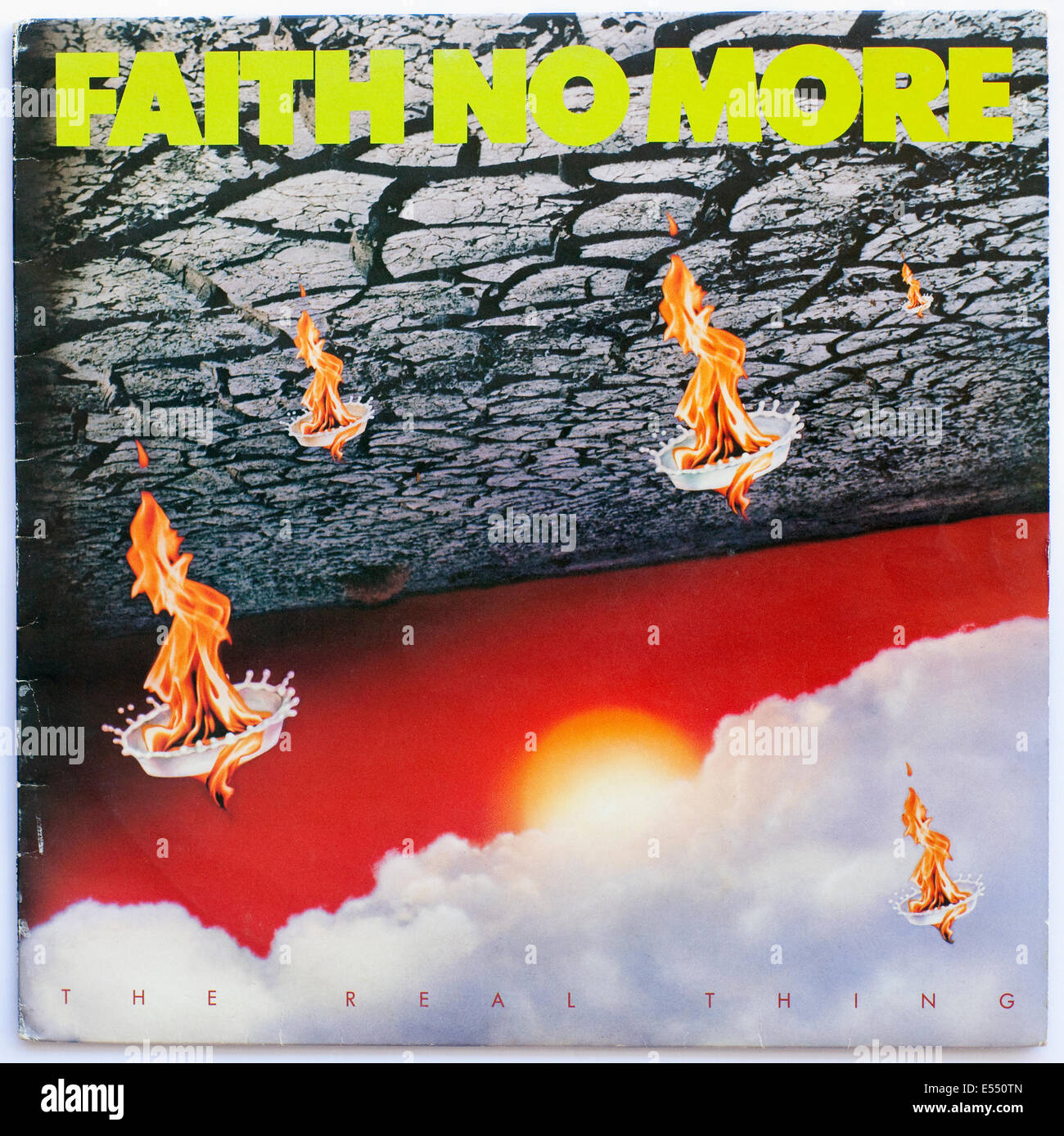 Faith No More - The Real Thing, album cover - Stock Image