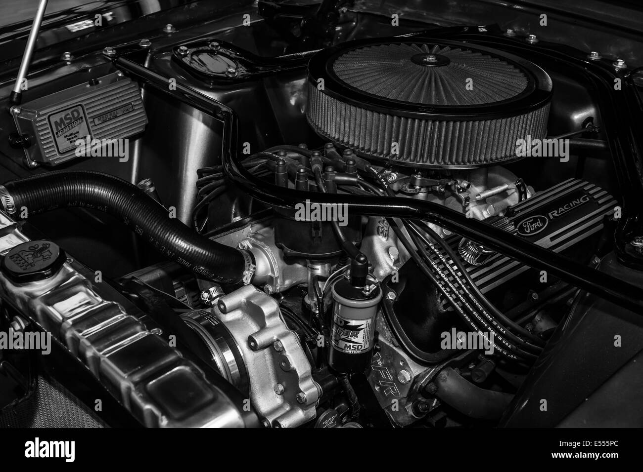 Boss 302 engine for high-performance variant of the Ford
