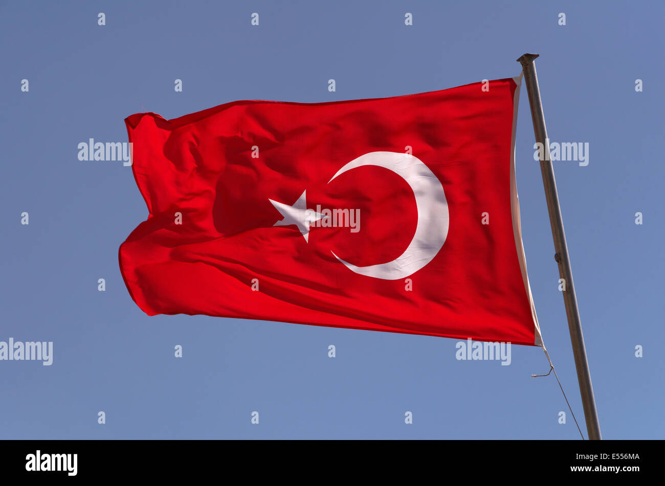 turkish flag stock photos turkish flag stock images alamy