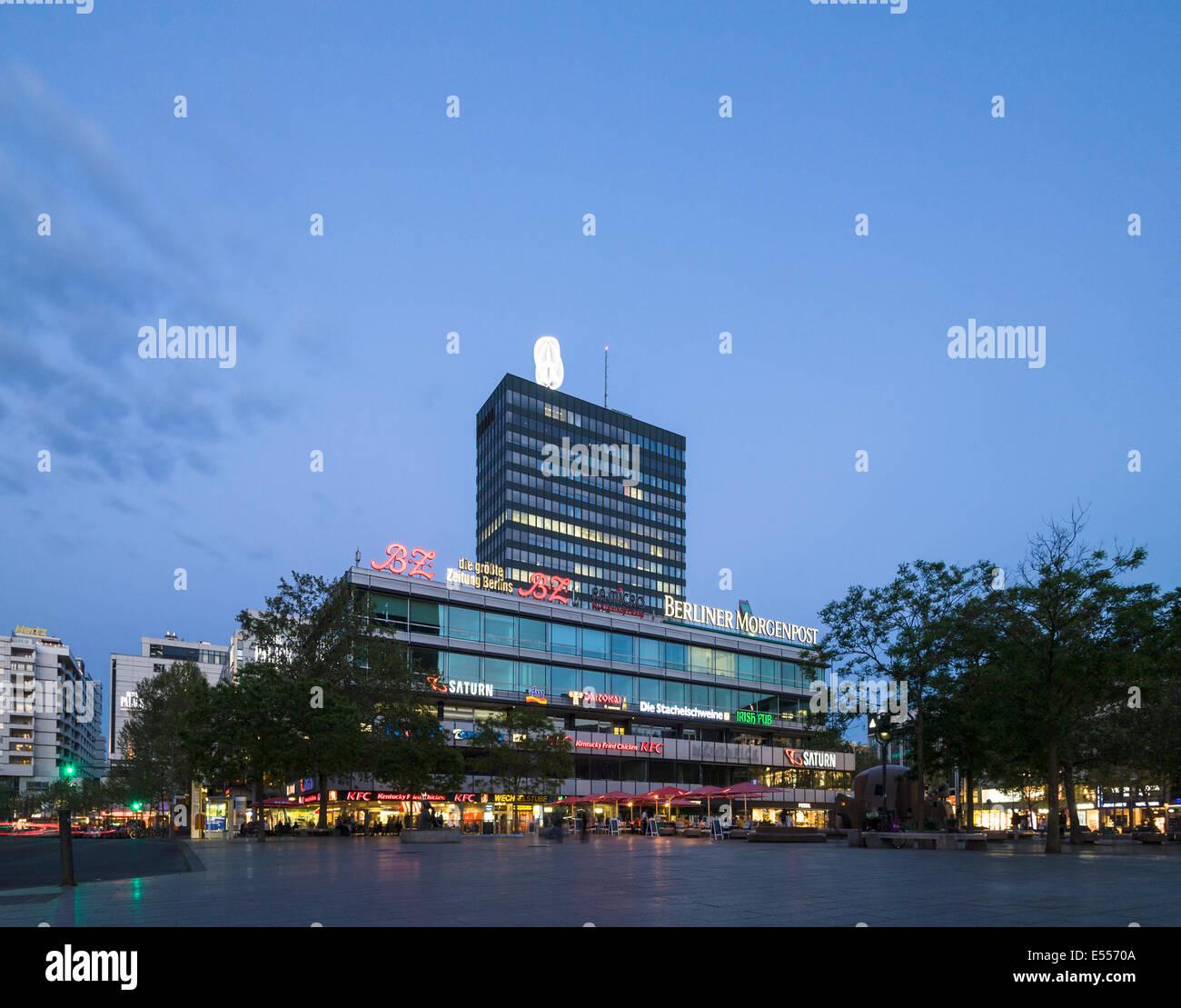 Europa Center, Berlin, Germany - Stock Image