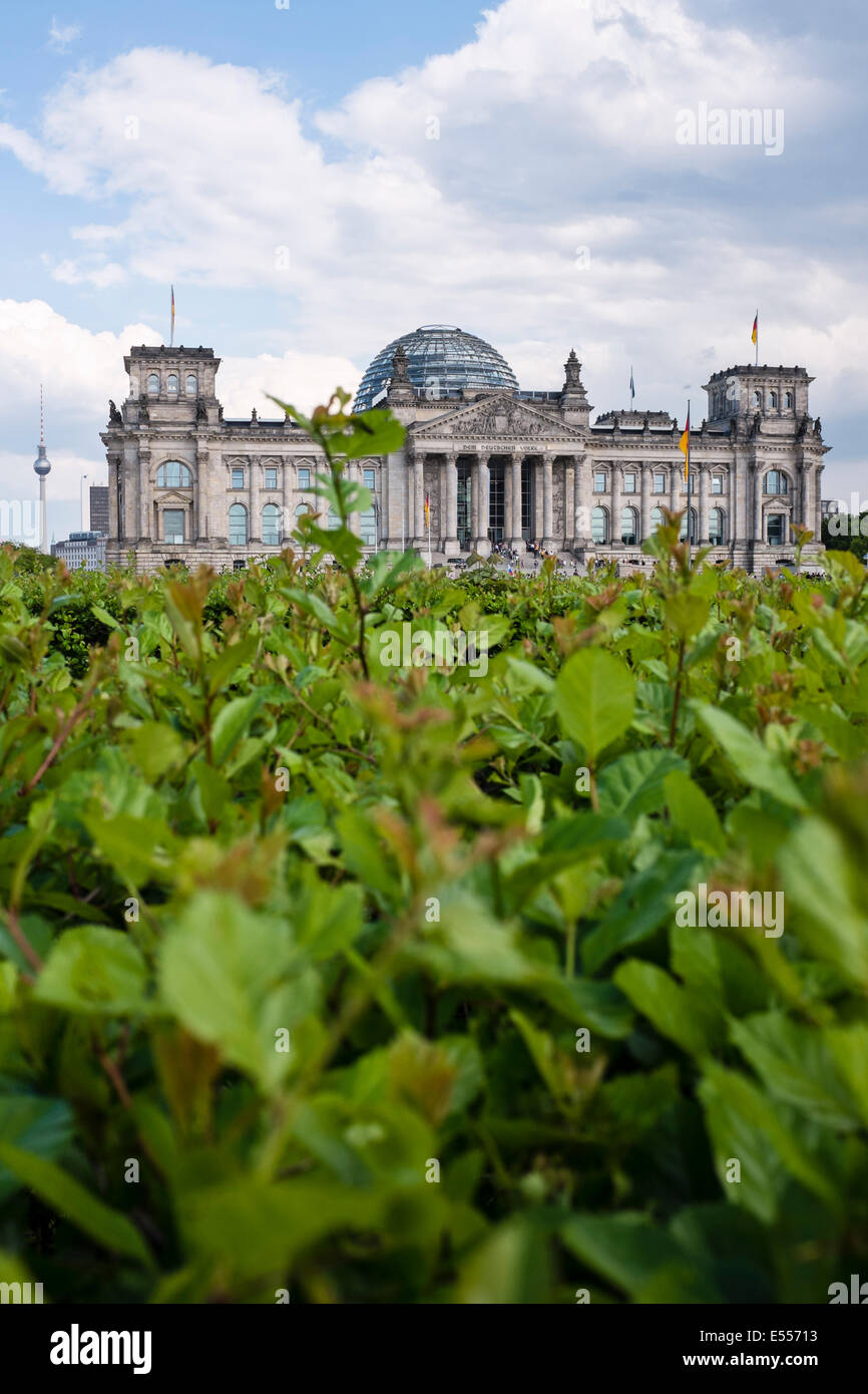 The Reichstag, Berlin, Germany - Stock Image