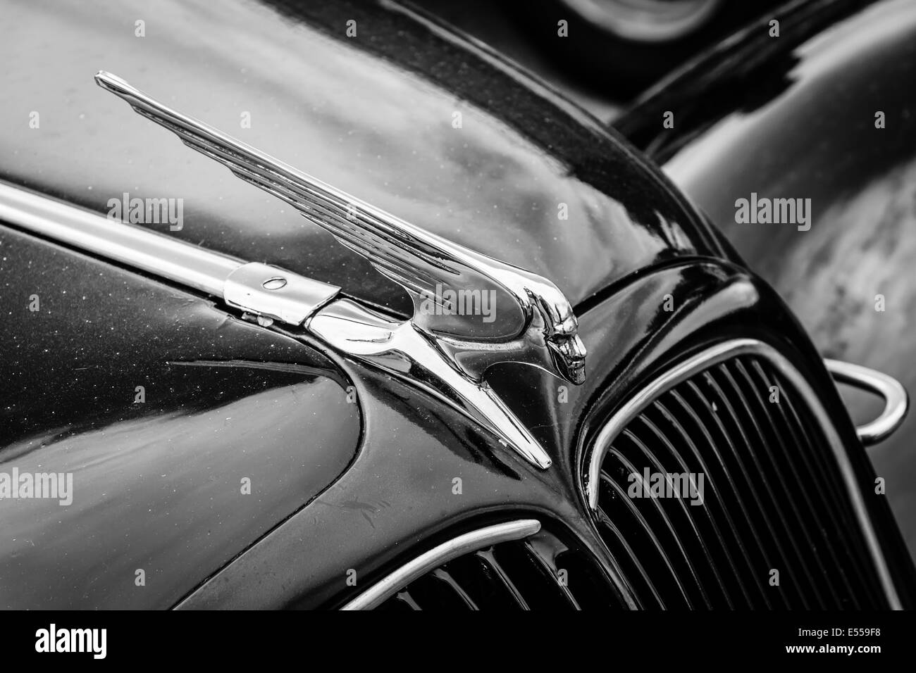Hood Ornament Of The Mid Size Luxury Car Citroen Traction Avant