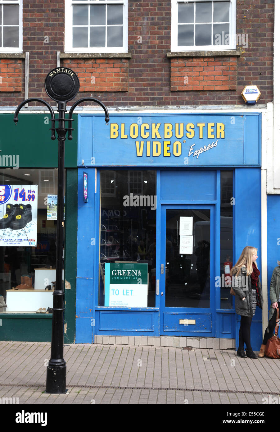 Blockbuster Wantage - Stock Image