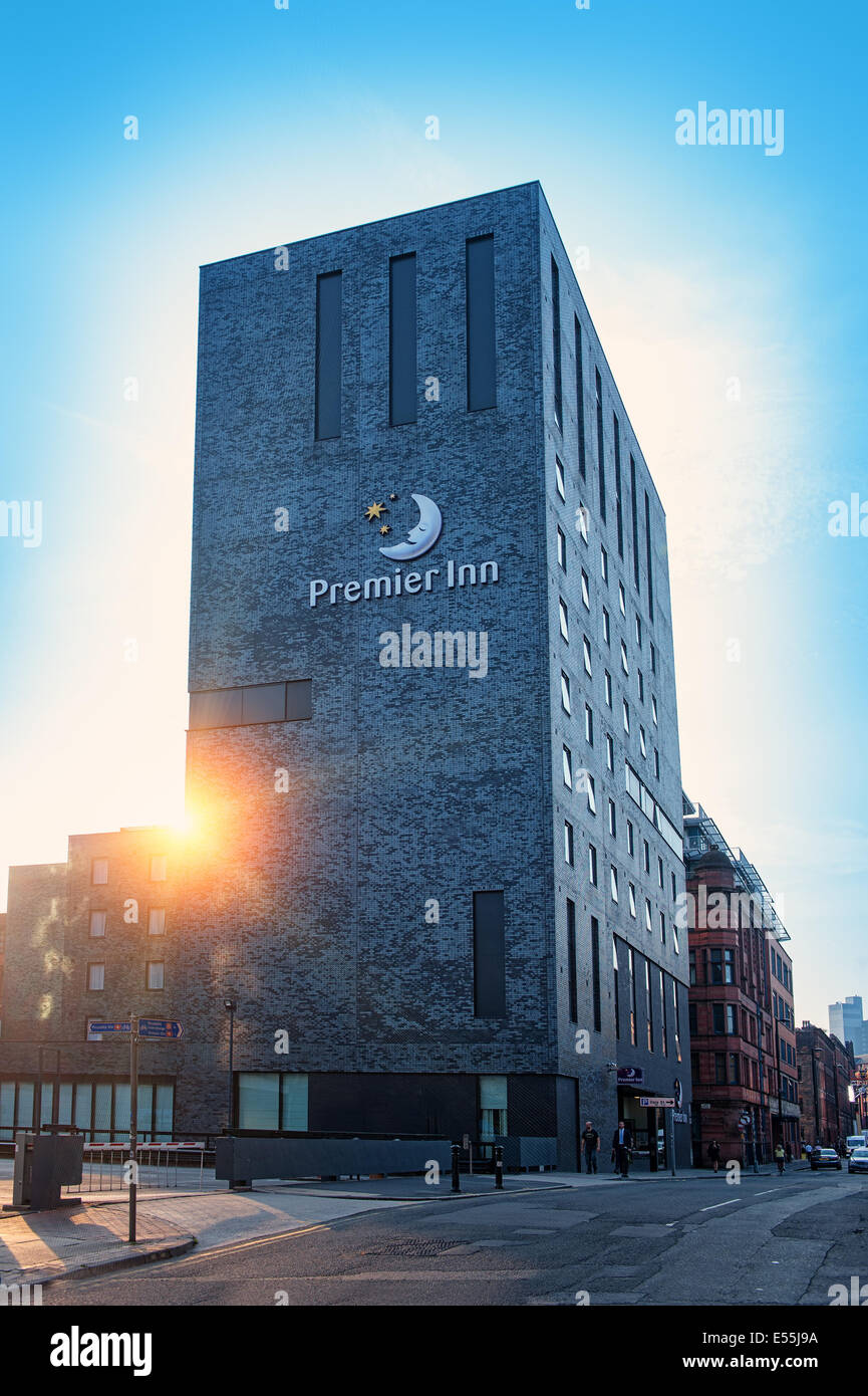 premier inn manchester picadilly hotel Stock Photo