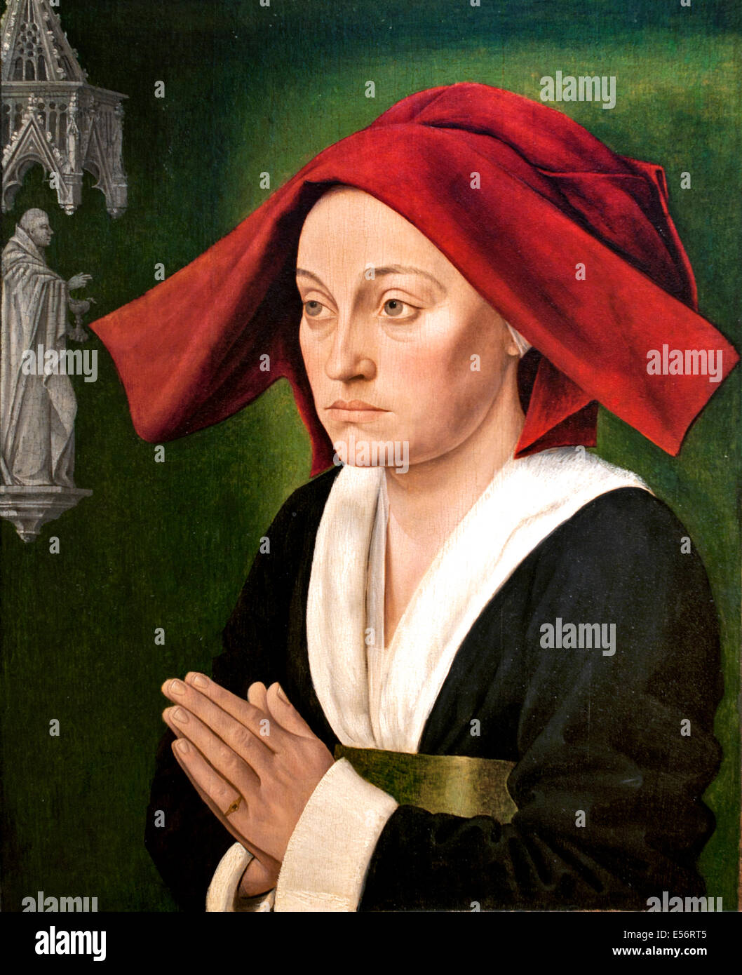 Jeanne de Montagu 1470 Master - Maitre de Saint Jean de Luze Burgundy France French - Stock Image