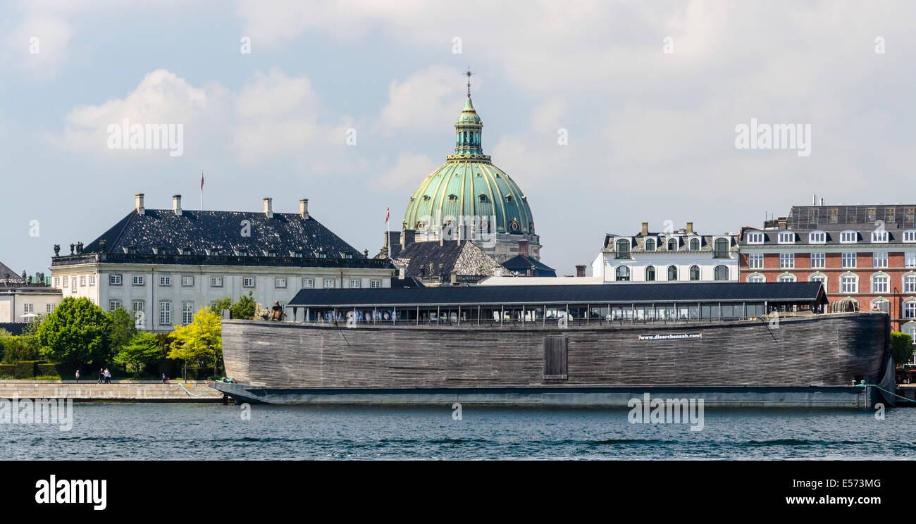 Replica of Noah's Ark, Copenhagen, Denmark - Stock Image