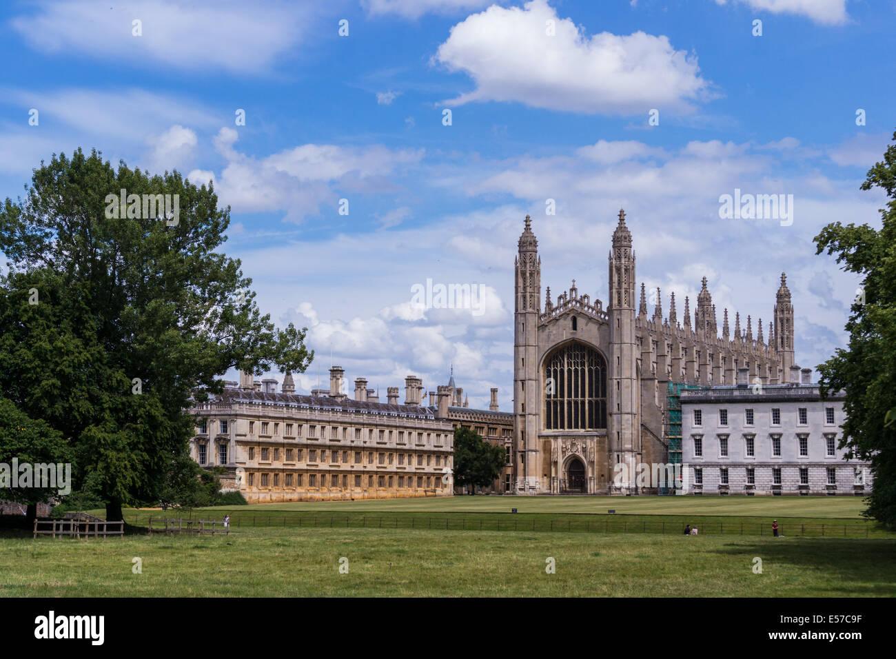 King's College, Cambridge, UK - Stock Image