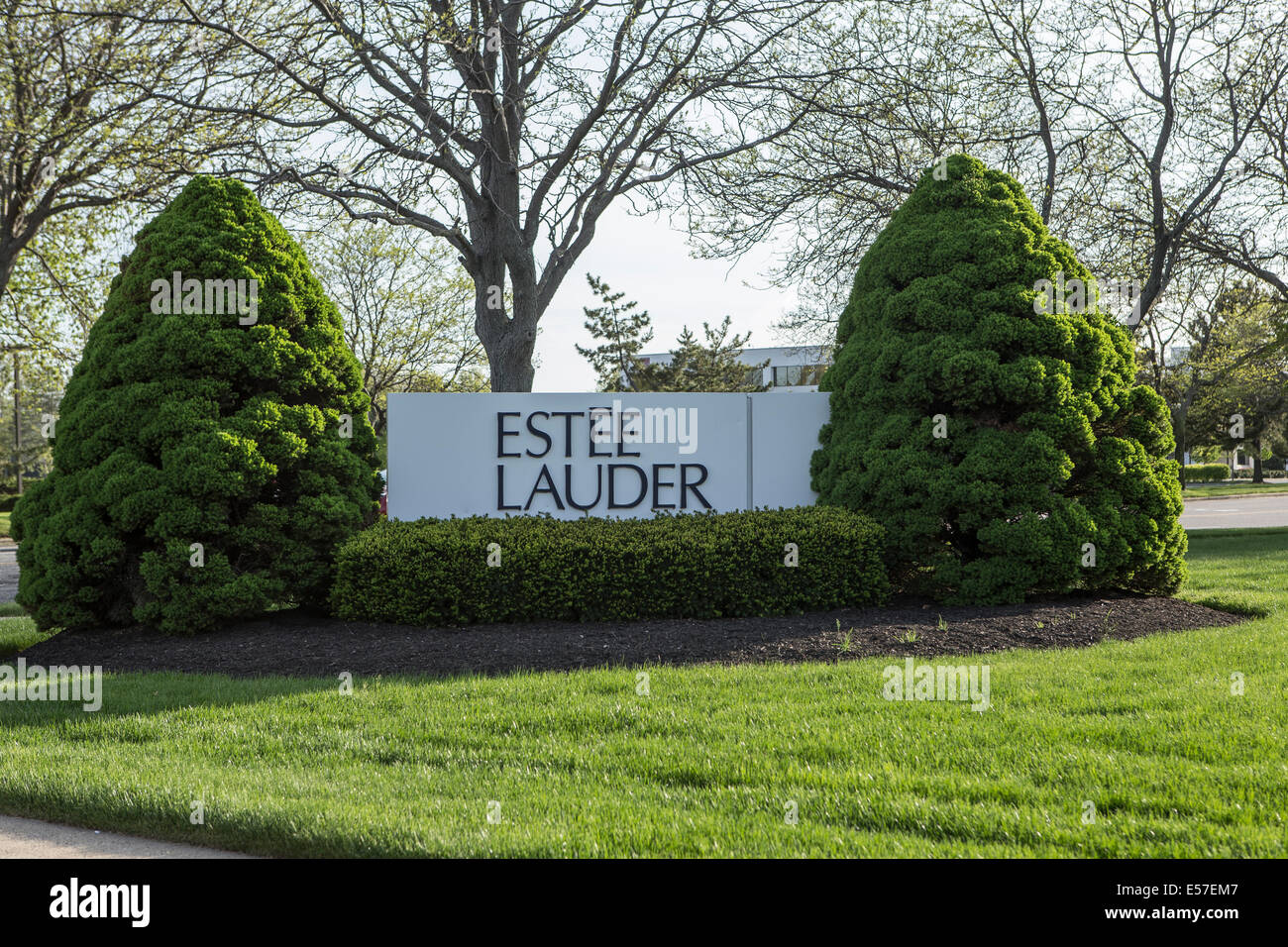 estee lauder research park is pictured in long island ny stock