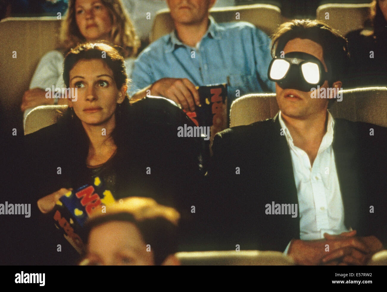 NOTTING HILL 1999 PolyGram/Working Title film with Hugh Grant and Julia Roberts - Stock Image