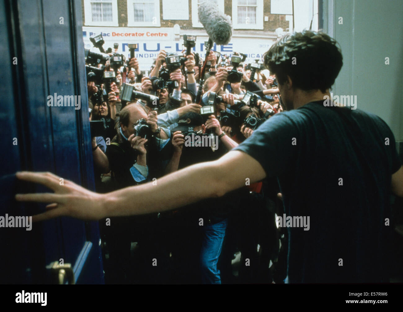 NOTTING HILL 1999 PolyGram/Working Title film with Hugh Grant - Stock Image