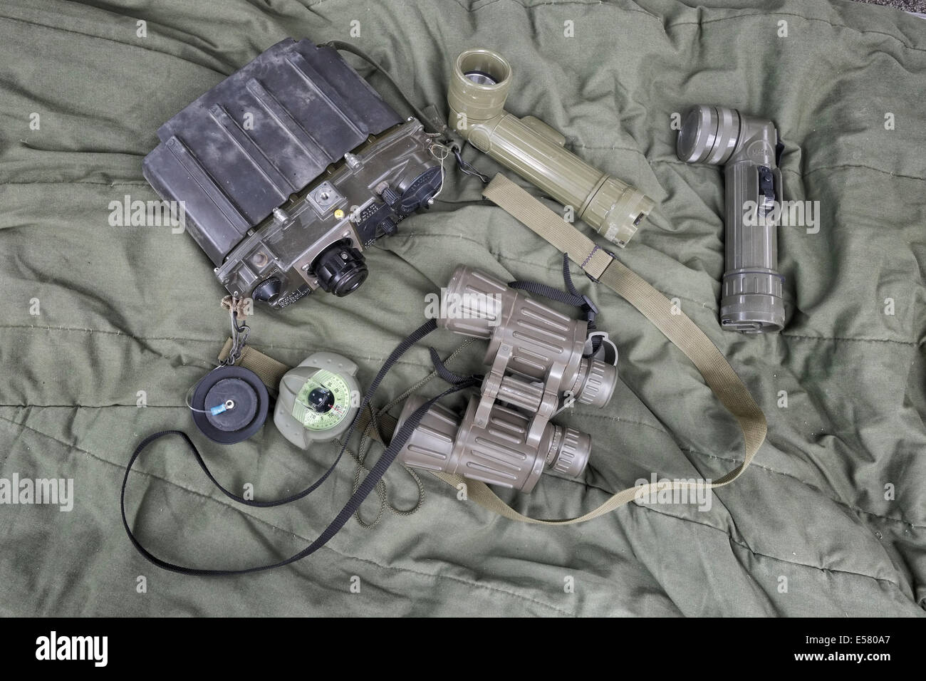 Military equipment of Israeli soldiers from the Field Intelligence Corps unit Israel. The Field Intelligence Corps, Stock Photo