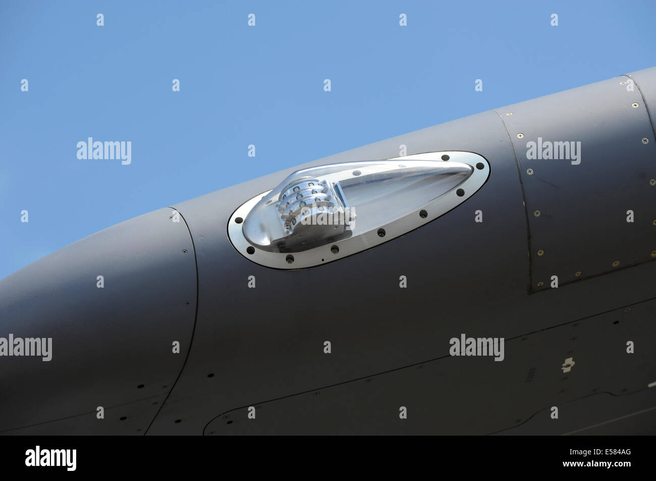 Airbus Military A400M wing tip light - Stock Image
