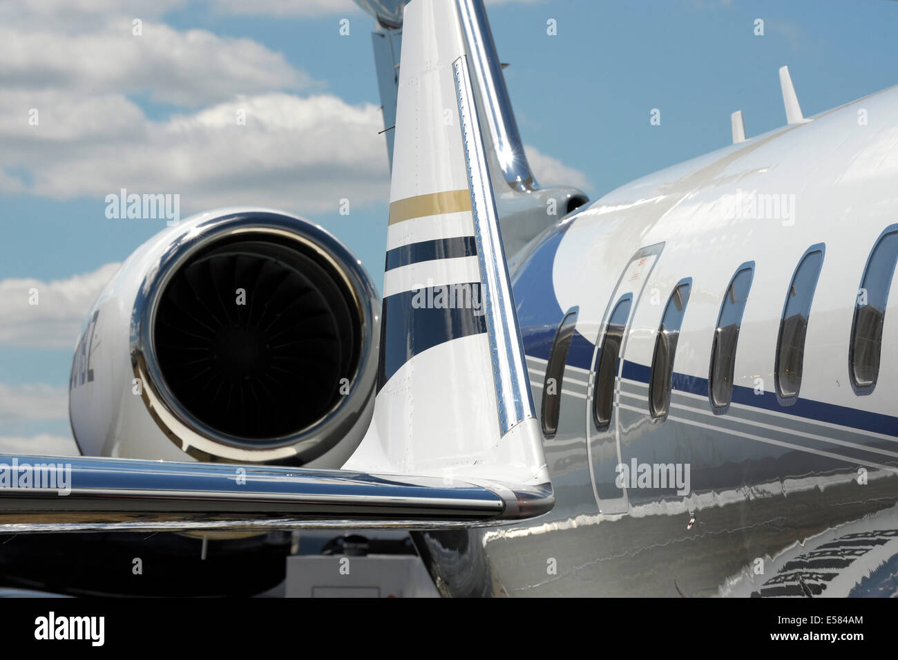 Bombardier Global 6000 Aircraft - Stock Image