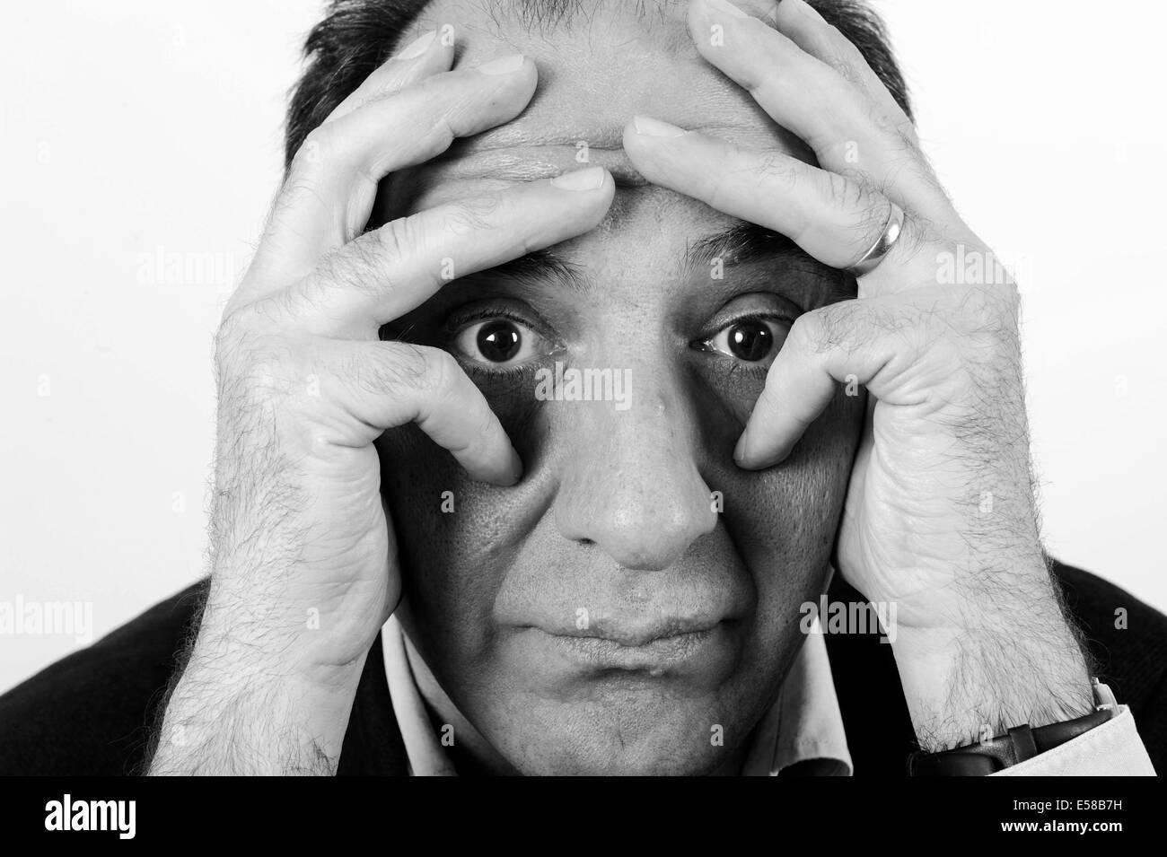 Armando Iannucci - Stock Image