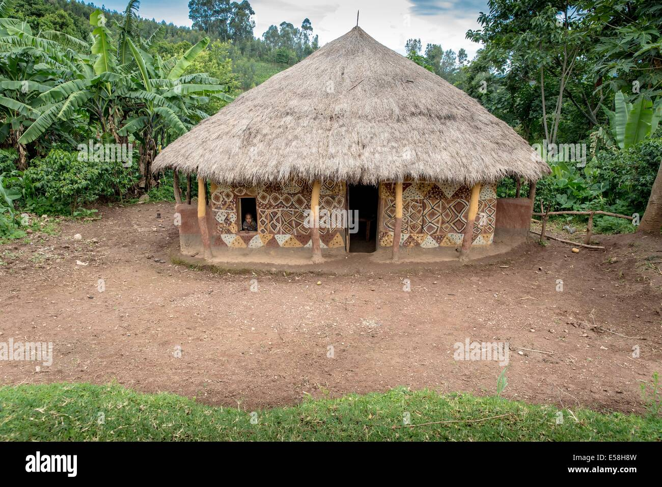 The Bench tribe live in the Southern Nations, Nationalities and Peoples Region of Southern Ethiopia. 24 May 2014 - Stock Image