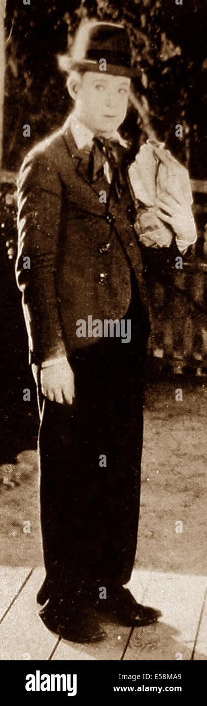 Harry Langdon early 1900s - Stock Image
