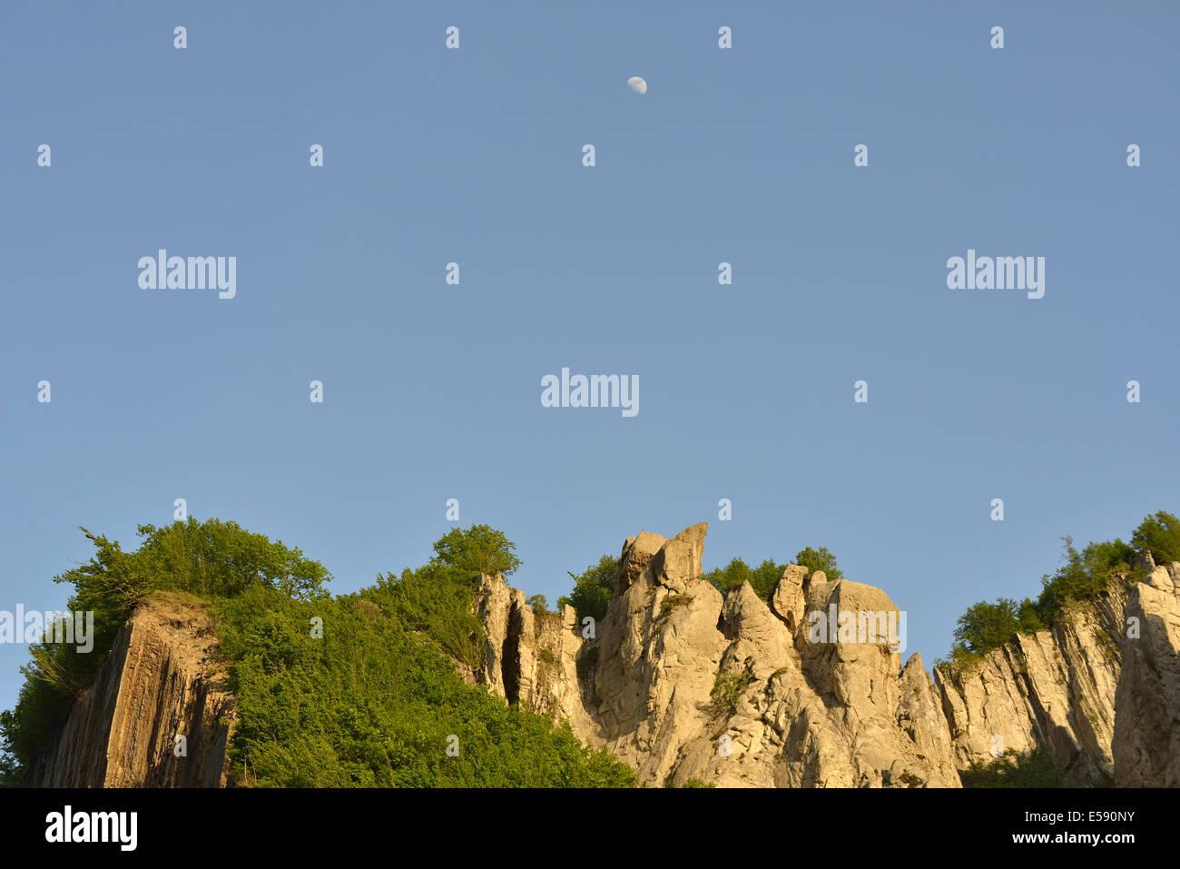 Landscape near the village of Lahic, Caucasus Mountains, Azerbaijan Stock Photo
