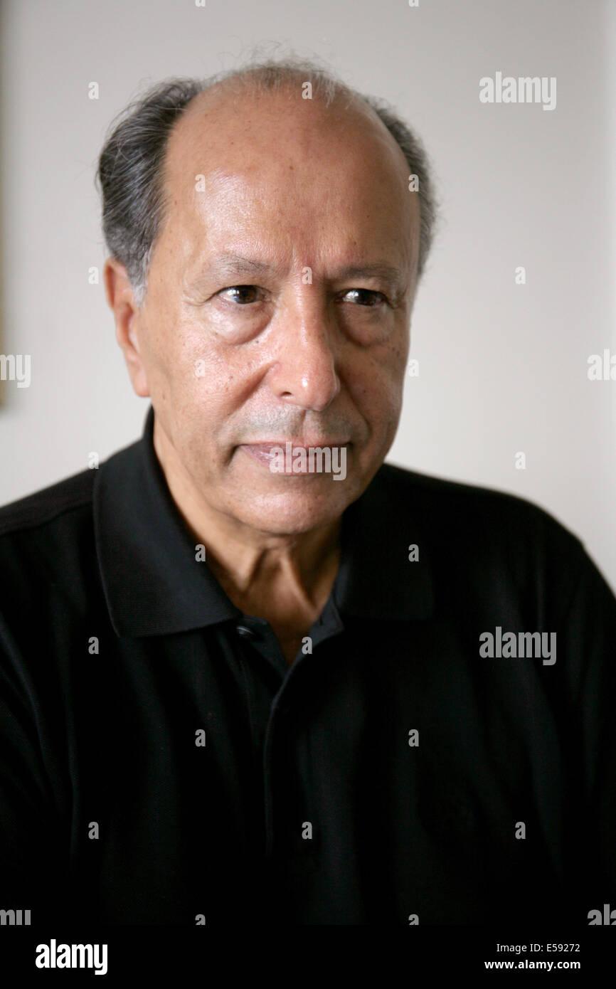 Abdallah Al-Frangi, seit 08.07.2014 Gouverneur von Gaza, aufgenommen am 23.07.2014 in seinem Büro in Gaza-Stadt. - Stock Image