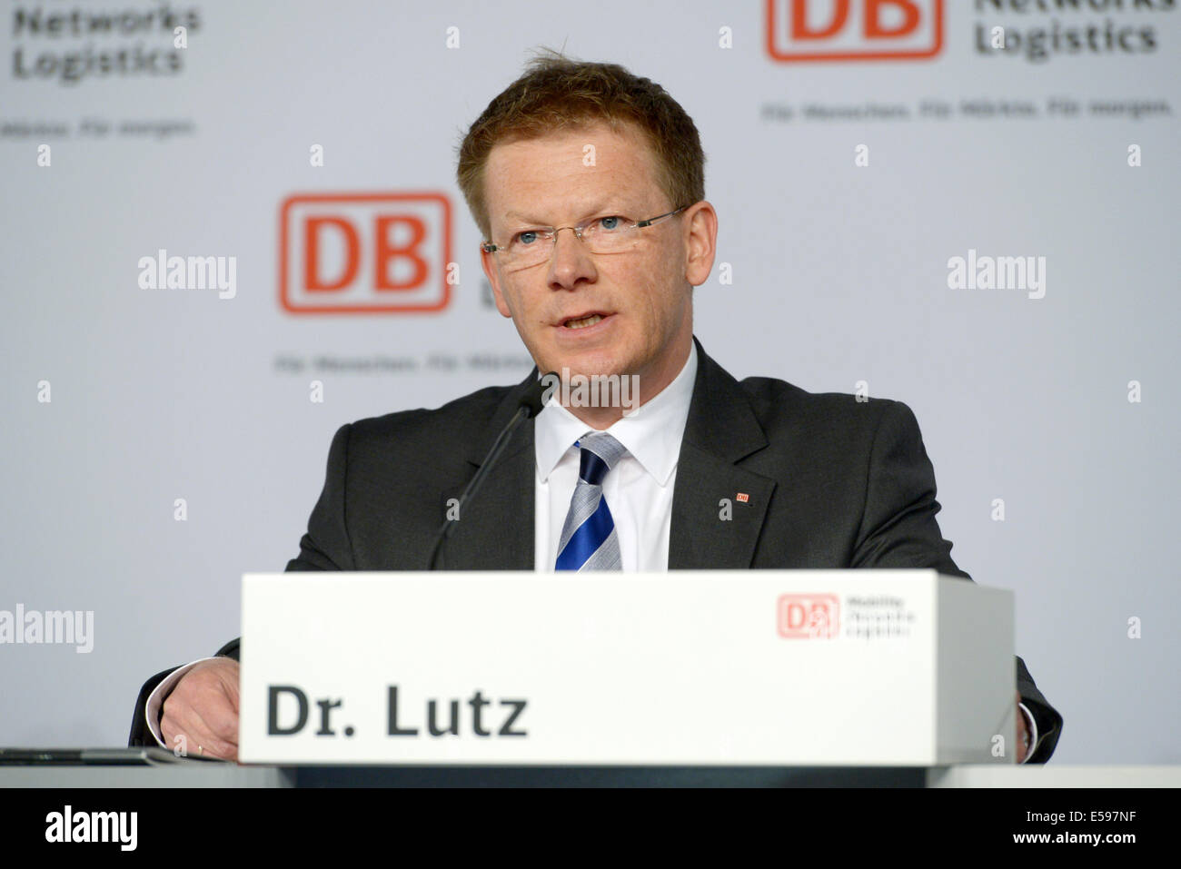 Berlin Germany 24th July 2014 Member Of The Management Board