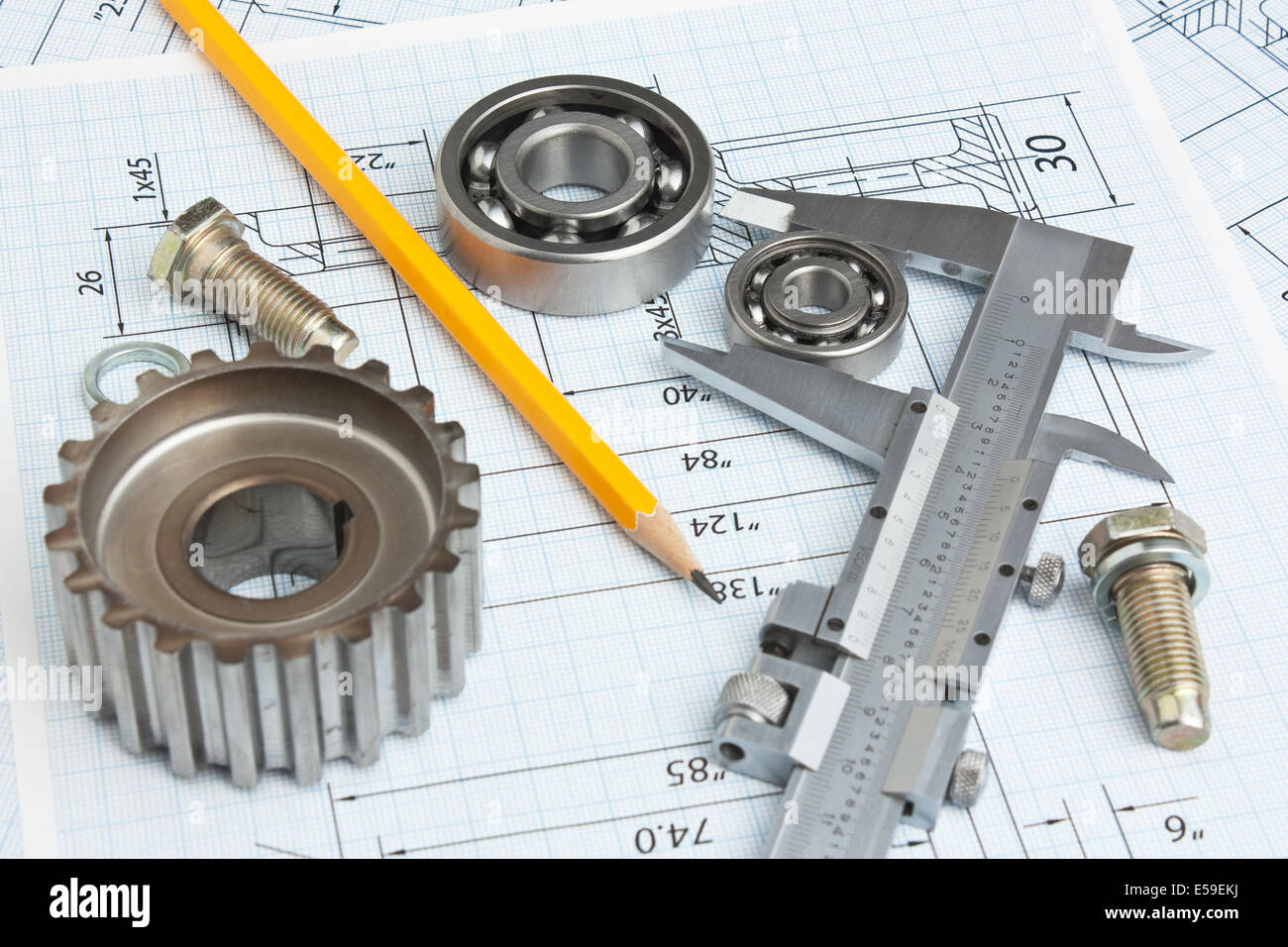 Technical Drawing Tools Stock Photos & Technical Drawing Tools Stock ...