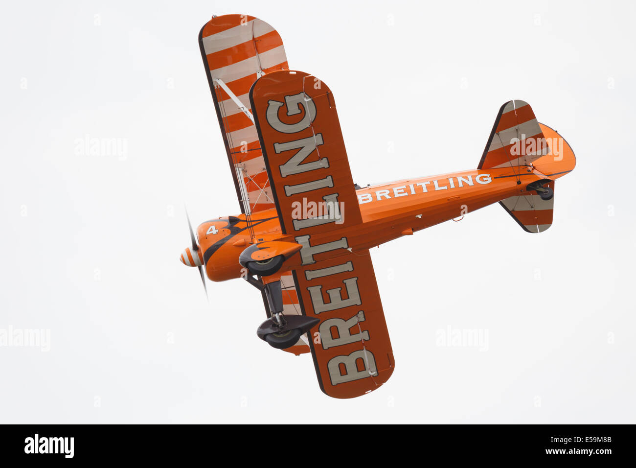 Breitling Wingwalkers at the 2014 Farnborough Airshow - Stock Image