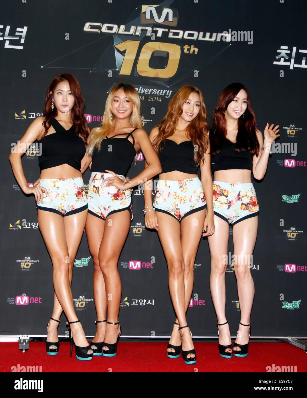 Teen girls South Korea