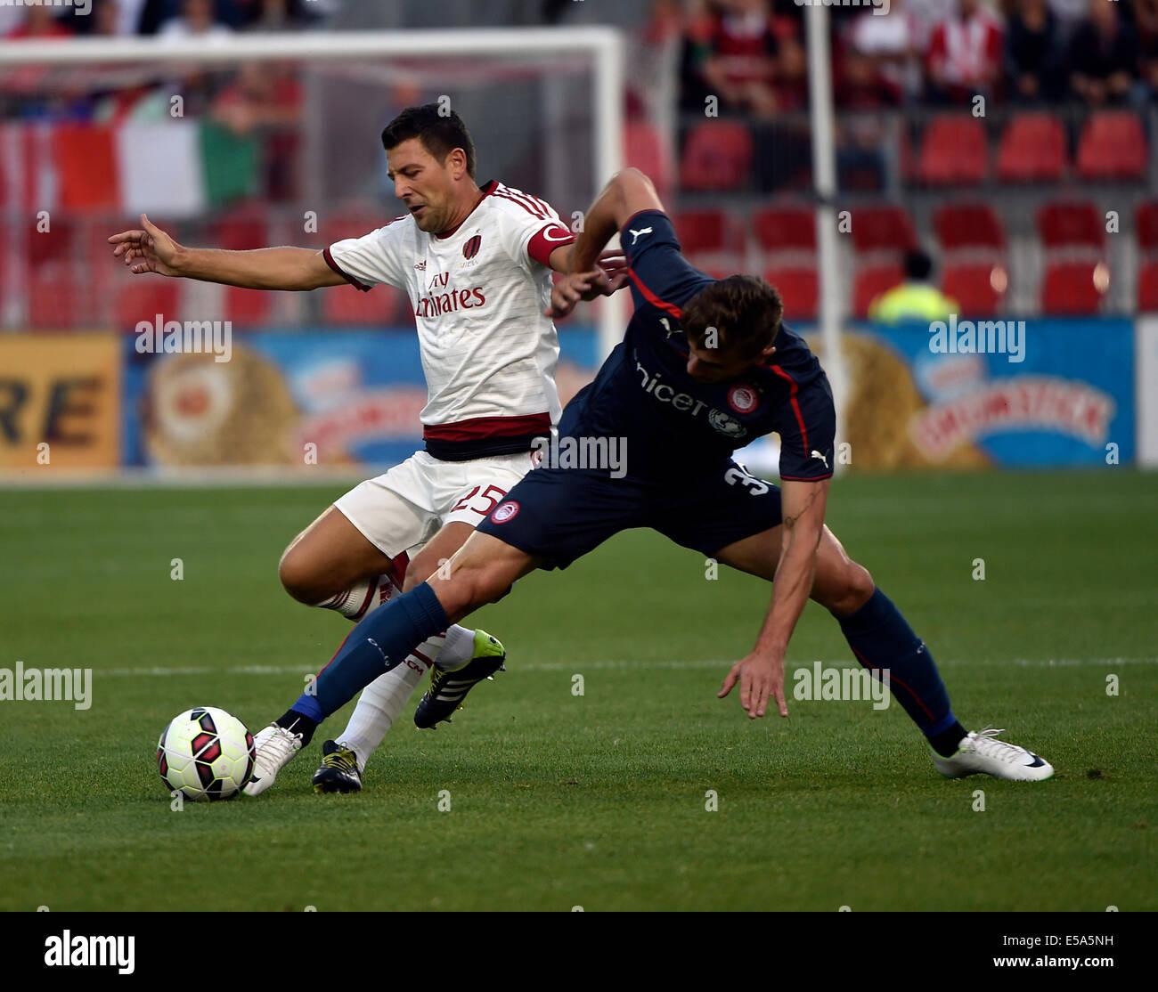 International Champions Cup Milan Vs Barcelona: Papazoglou Stock Photos & Papazoglou Stock Images