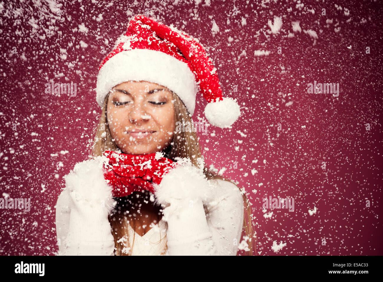 Christmas dreams, Debica, Poland - Stock Image