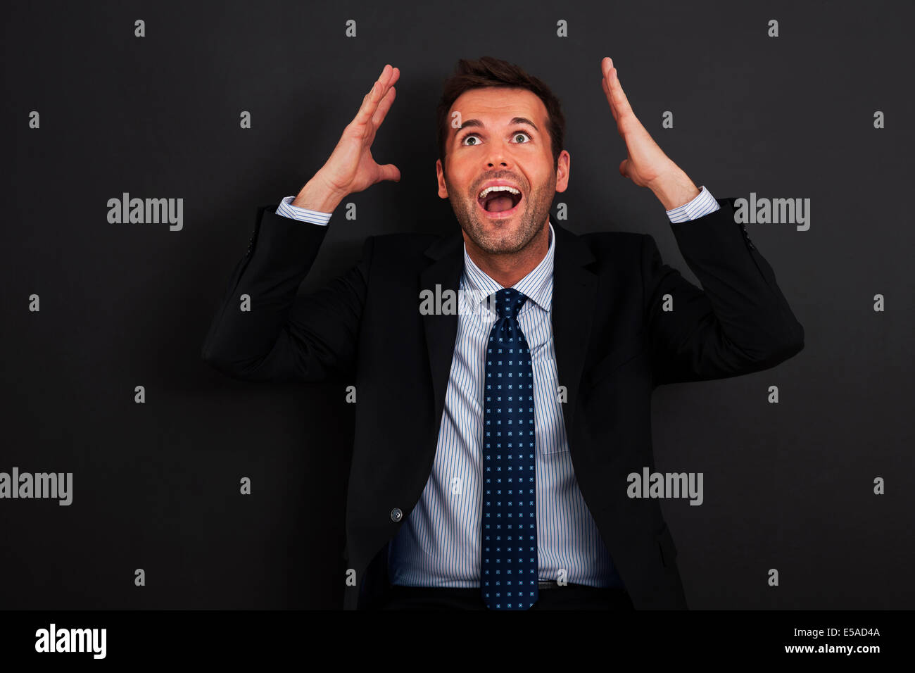 Unbelievable! It's big opportunity for me, Debica, Poland - Stock Image