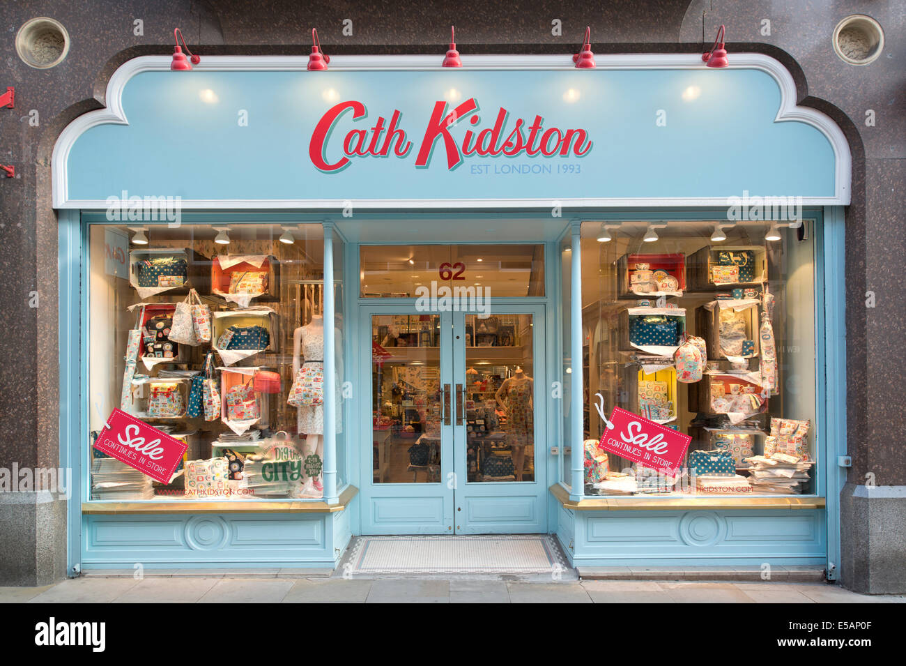 The Storefront Of The Home Furnishing And Fashion Retailer Cath Stock Photo 72151535 Alamy