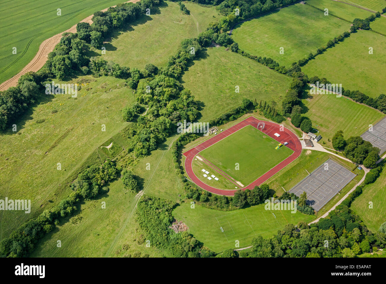 Aerial View Sports Uk Stock Photos Aerial View Sports Uk Stock Images Alamy