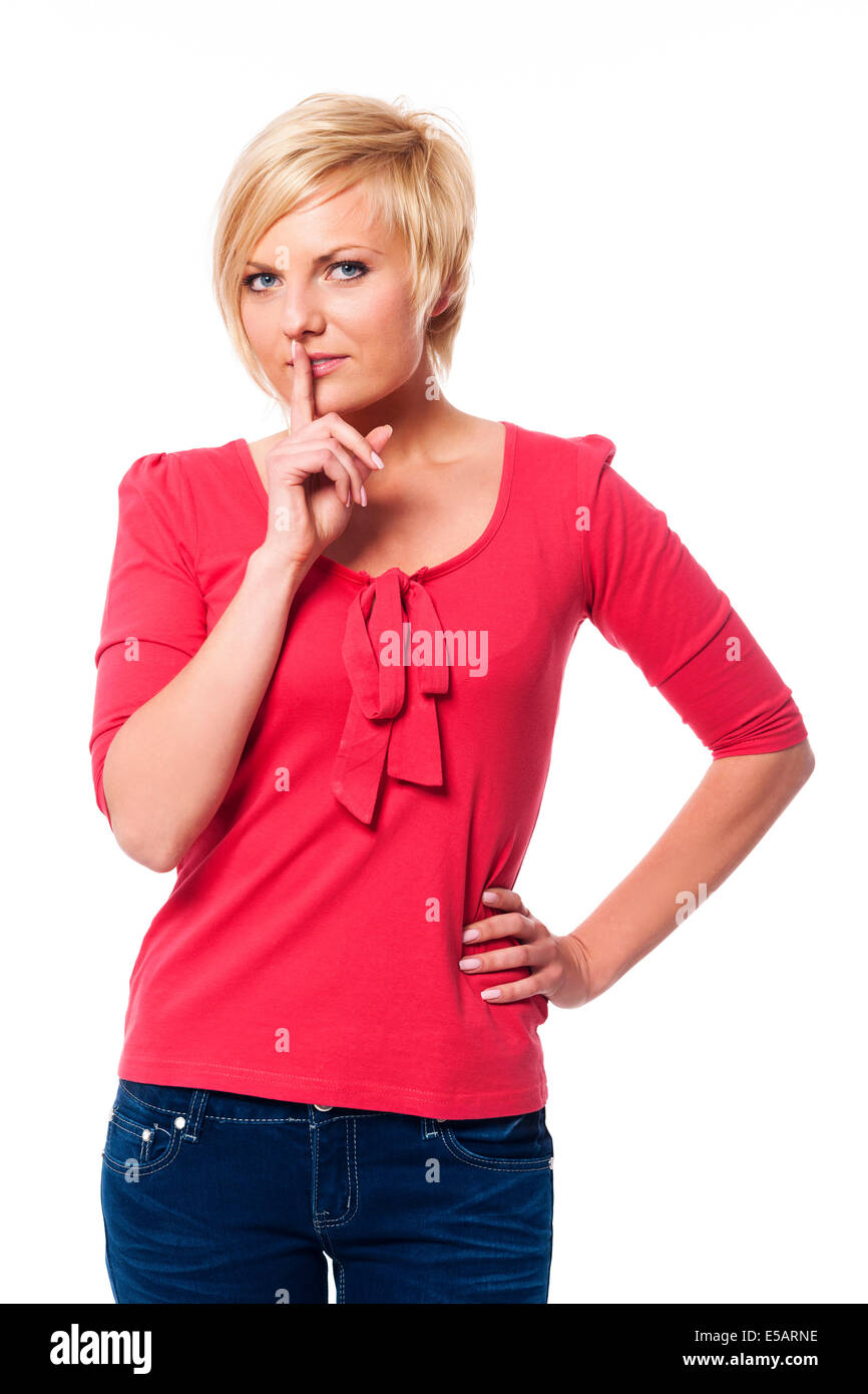 Shhh... It's mystery  Debica, Poland - Stock Image
