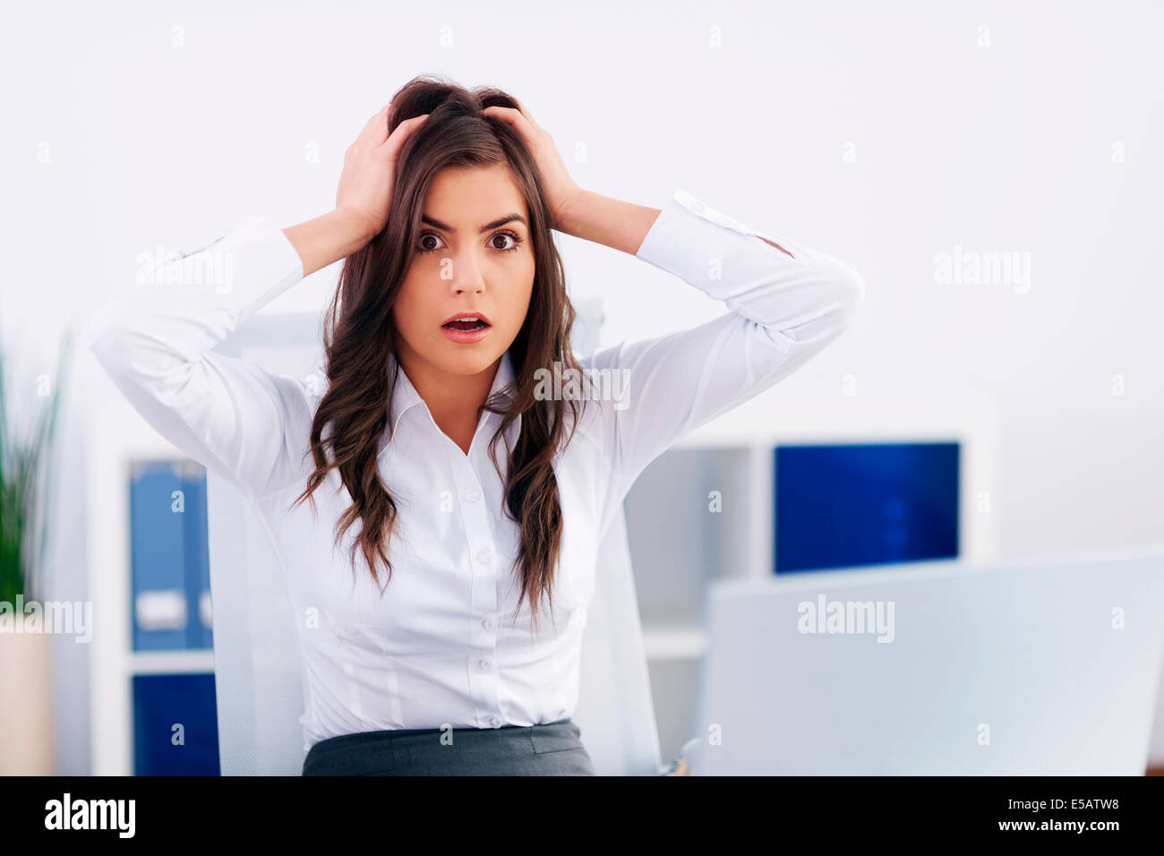 Mistake at work Debica, Poland - Stock Image