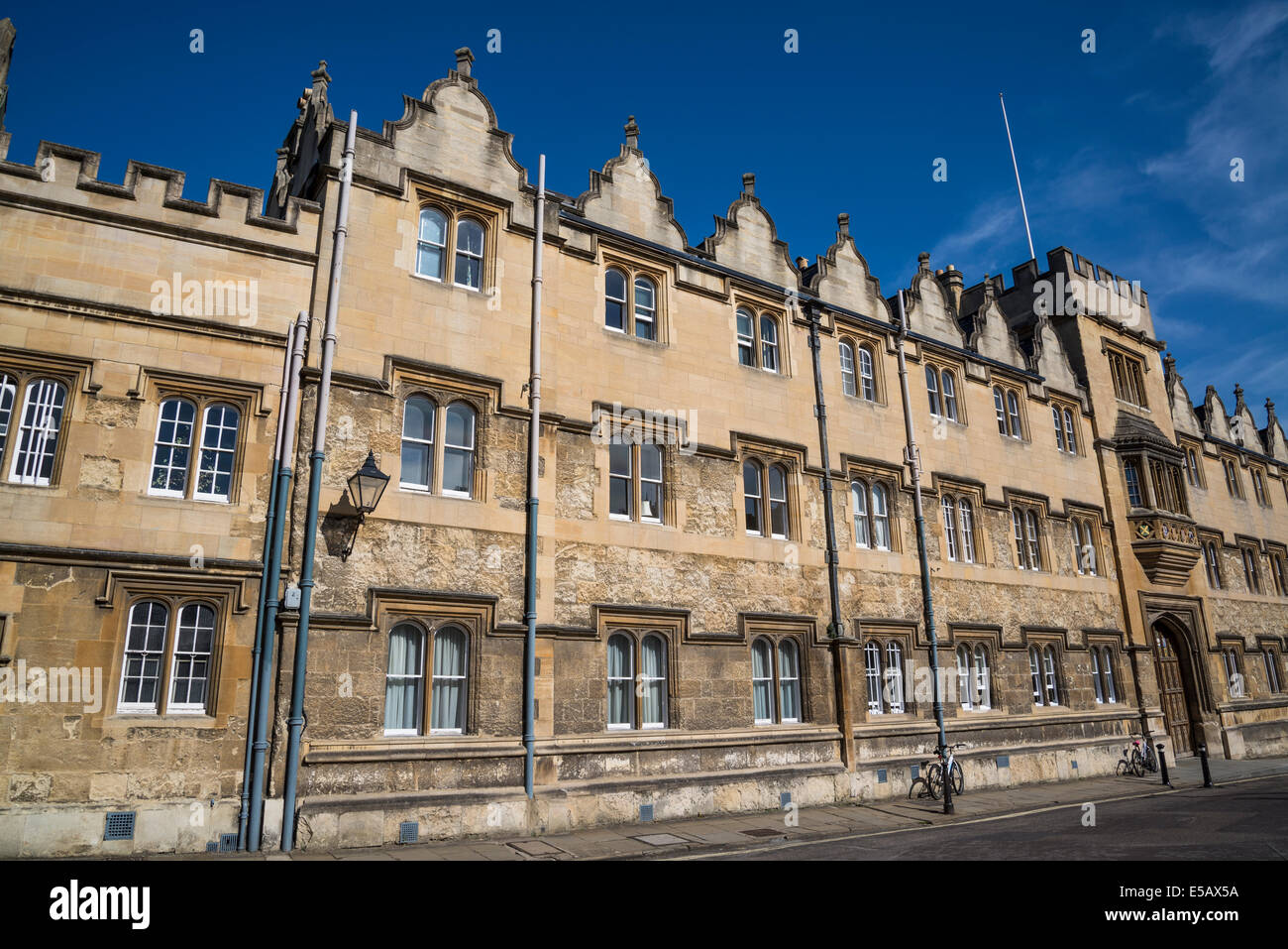 Oriel College, Oxford, England, UK - Stock Image