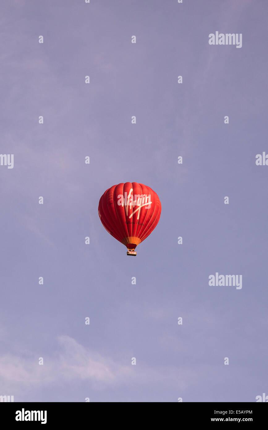 Virgin Baloon, Oxford, UK - Stock Image