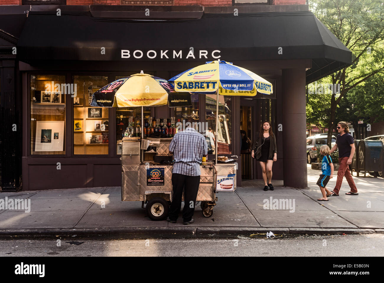 New York, NY - 25 July 2014 - Marc Jacobs Bookstore on Bleecker Street - Stock Image
