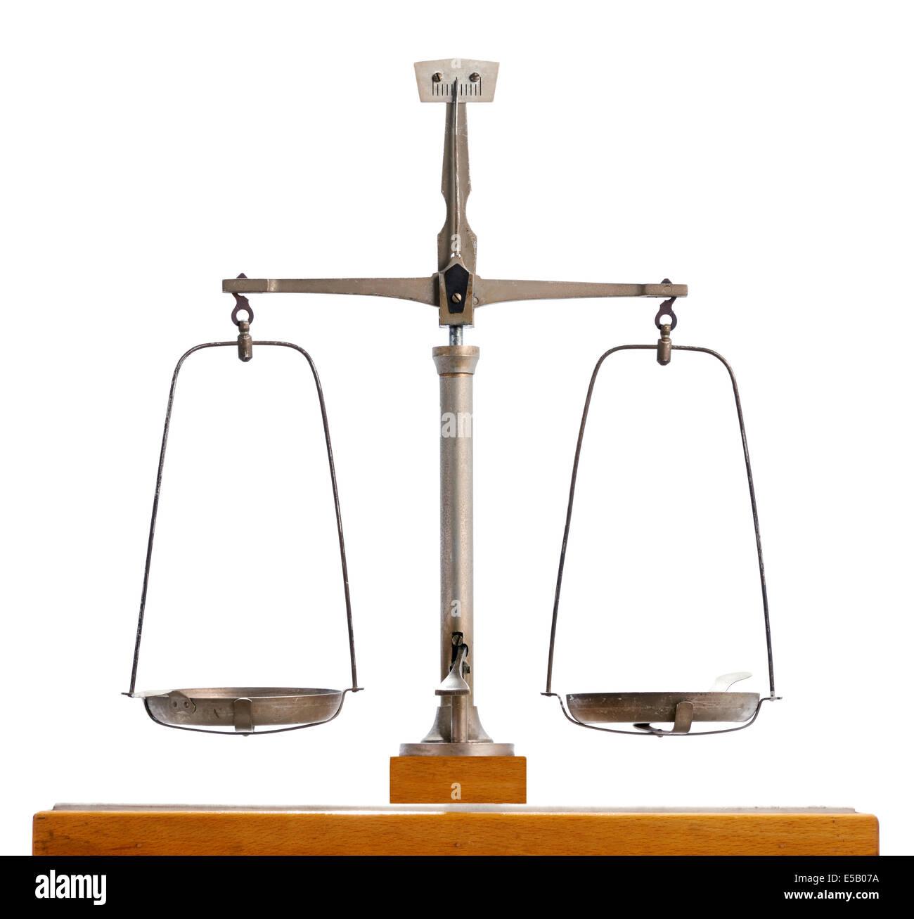 Vintage pendulum scale - Stock Image