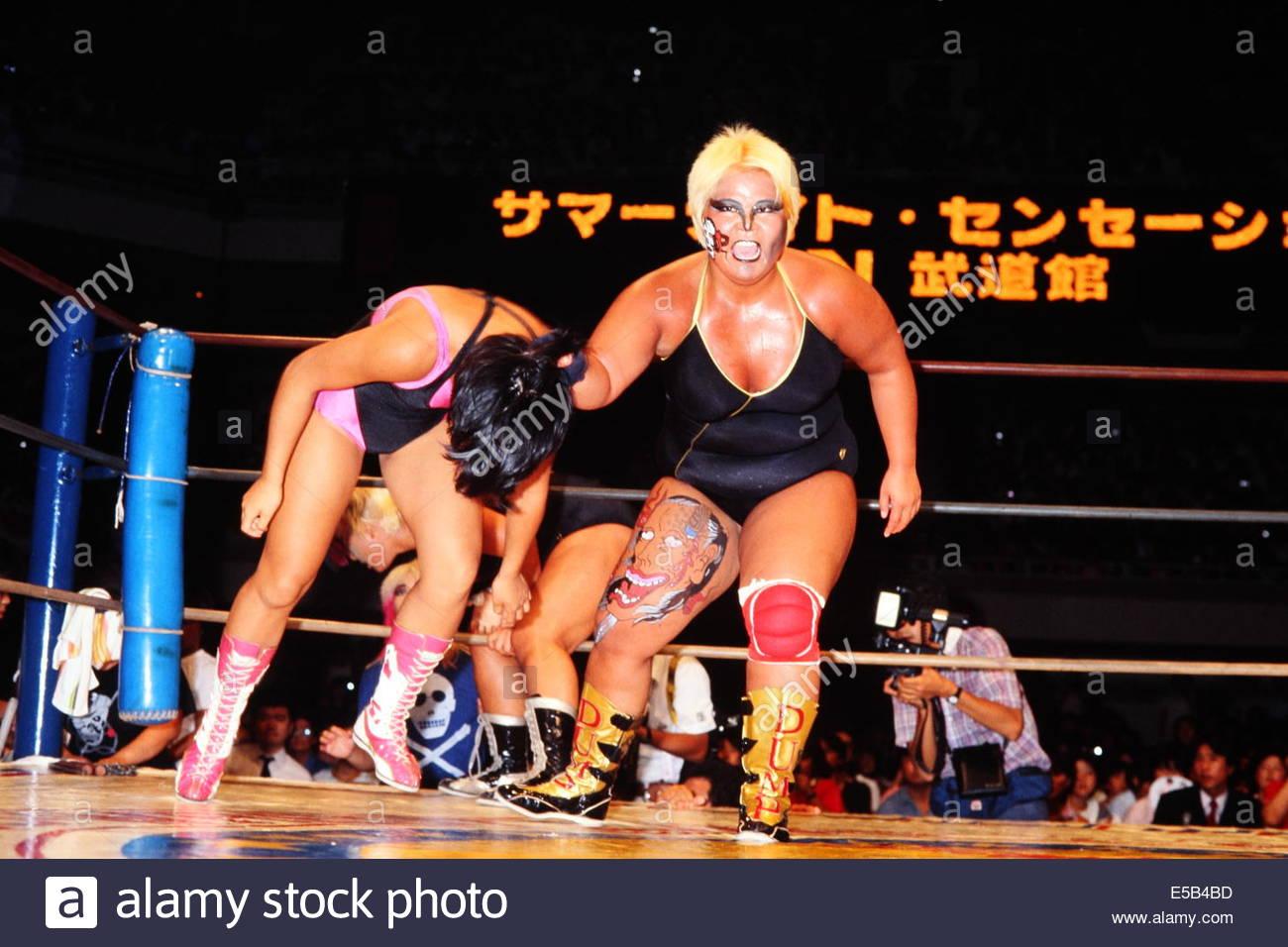 Dump Matsumoto, AUGUST 12, 1985 - Pro-Wrestling : All Japan Women's