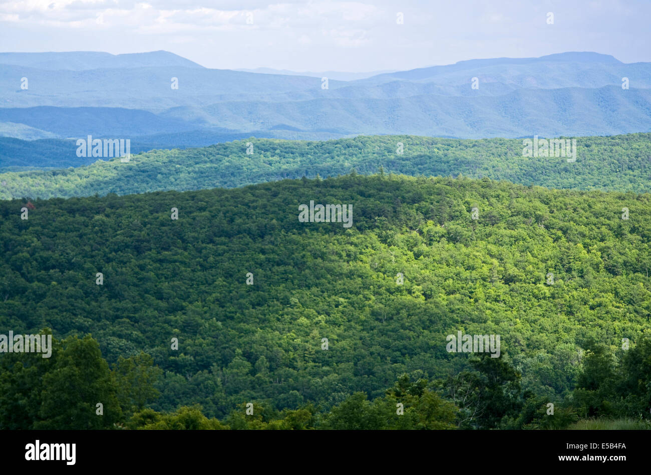 Dan Ingall's Outlook, Virginia, USA - Stock Image