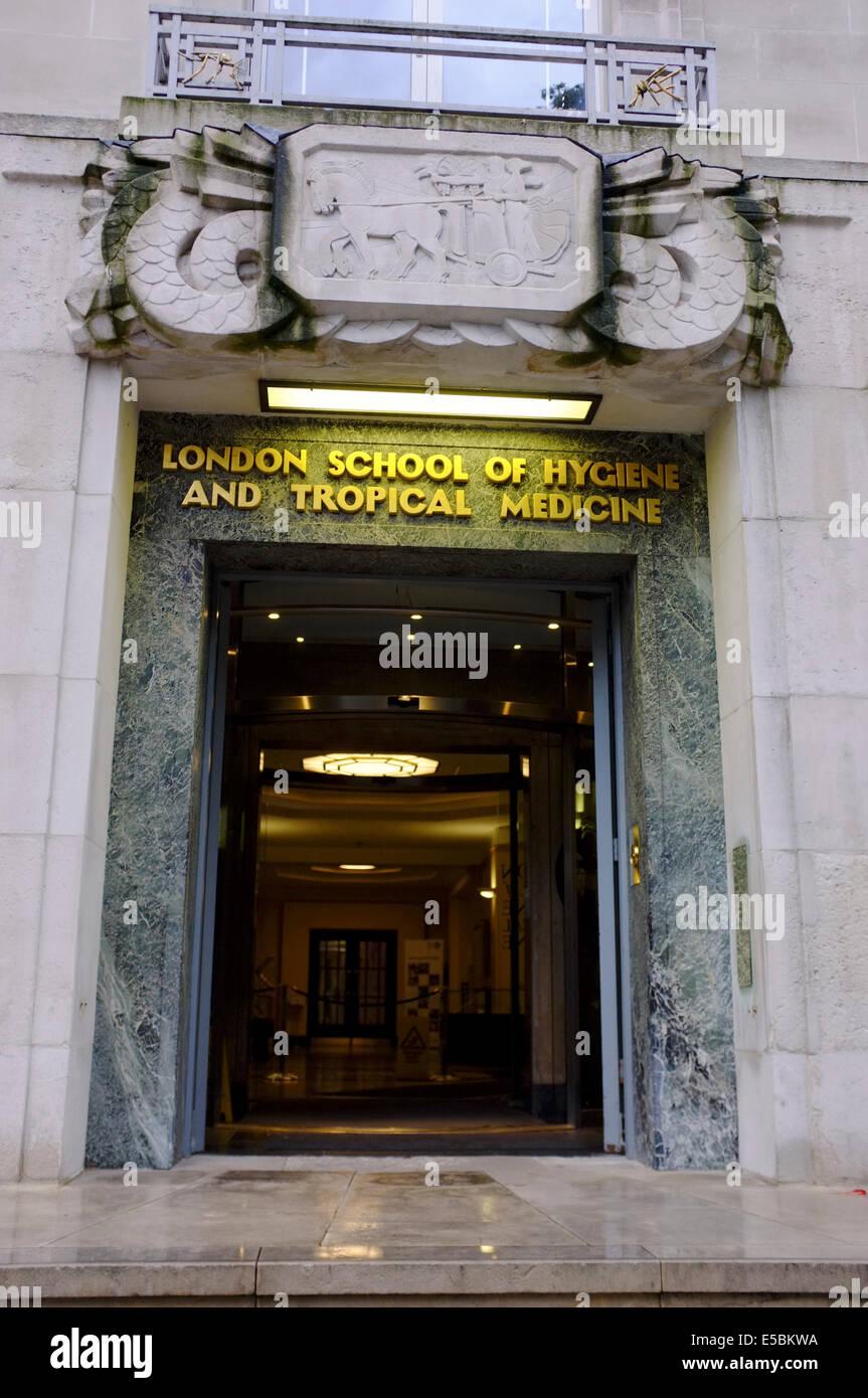 London School of Hygiene and Tropical Medicine Stock Photo