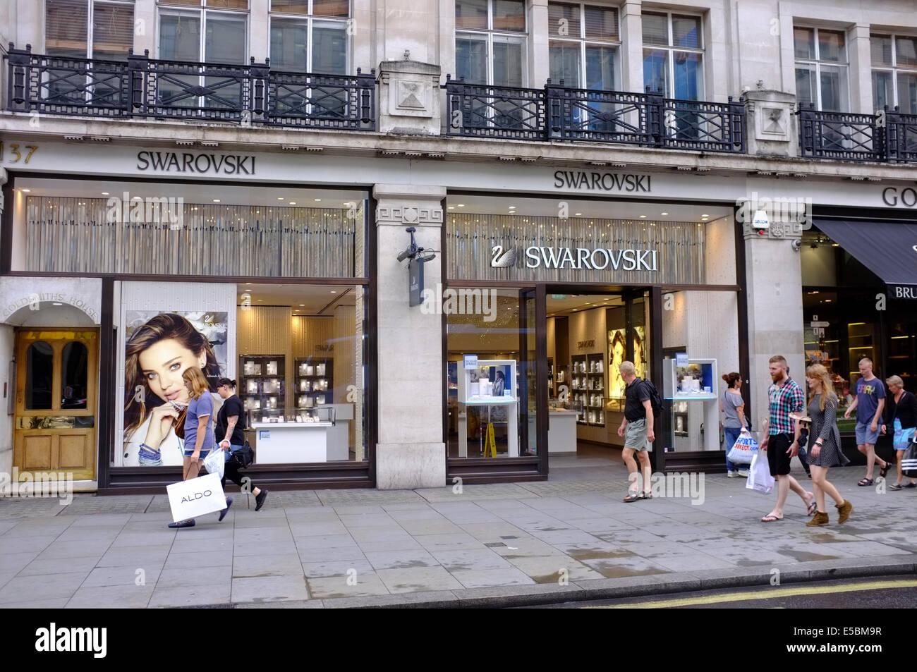 SWAROVSKI jewelery store on Regent Street 264c054ca4