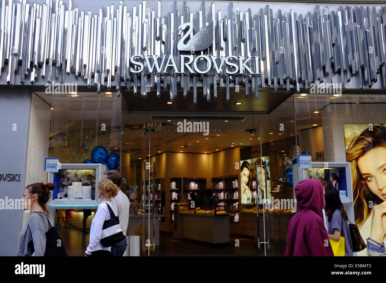 SWAROVSKI shop on Oxford Street eb1c1b56e3